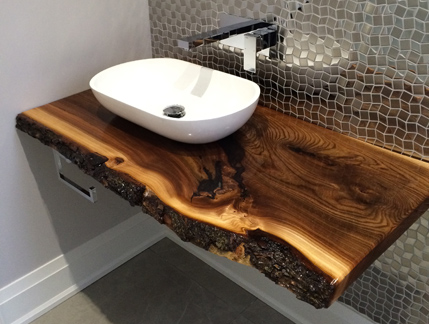 Products Furniture Live Edge Slab Vanity Bar Tops